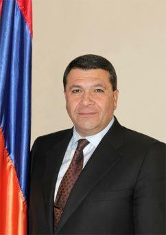 Vladimir (Vova) Gasparyan, newly appointed Chief of Armenia's Police