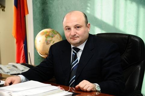 Gyumri Mayor Vardan Ghukasian, Photo from the official website of Gyumri City Hall