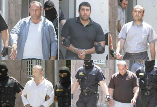 """The Arrest of """"Harsnaqar"""" staff suspected for assailing military doctors which led to the death of Vahe Avetyan"""