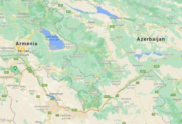 Nagorno-Karabakh Map as of 14Dec2020
